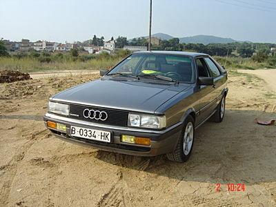 1985 - Audi, Coupe Quattro