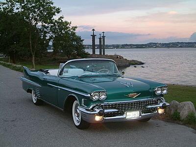 1958 - Cadillac, Series 62 Convertible