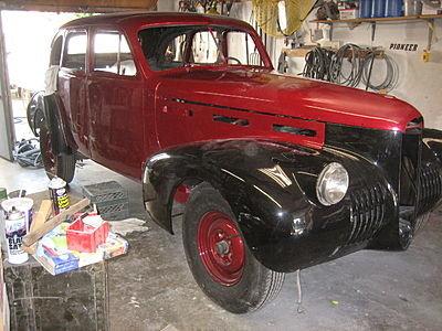 1940 - Cadillac, Lasalle