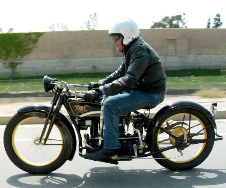 Jay Leno's Garage: 1924 Ace Motorcycle Photo: 339106