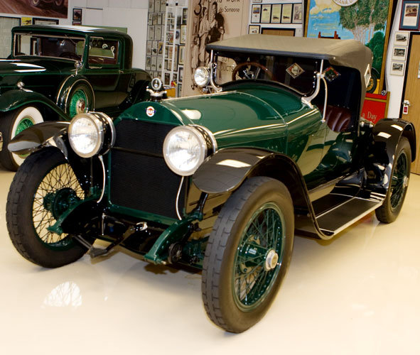Jay Leno's Garage: 1918 Stutz Bearcat Photo: 322066