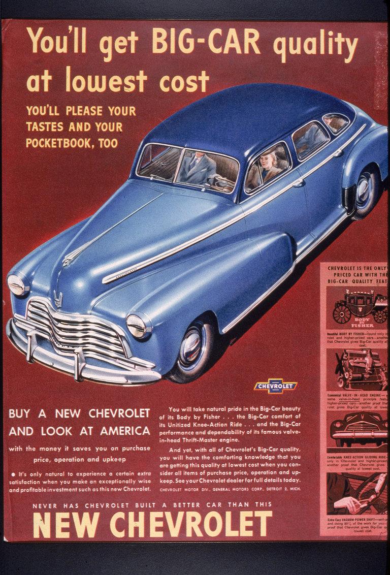 Chevrolet, Circa 1950
