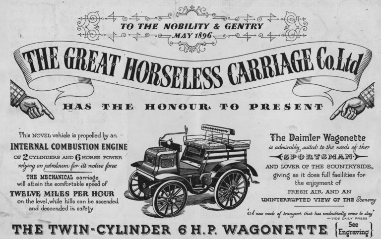 Daimler Horseless Carriage