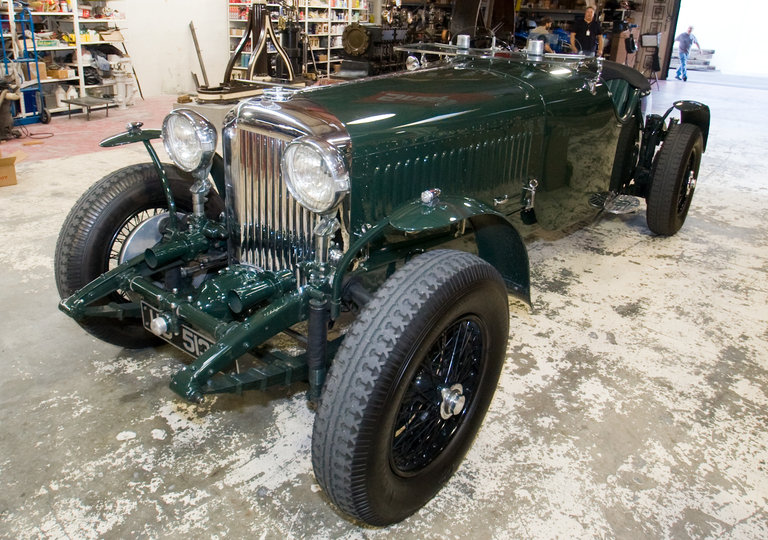 Jay's 1931 Bentley 8-Litre W.O.