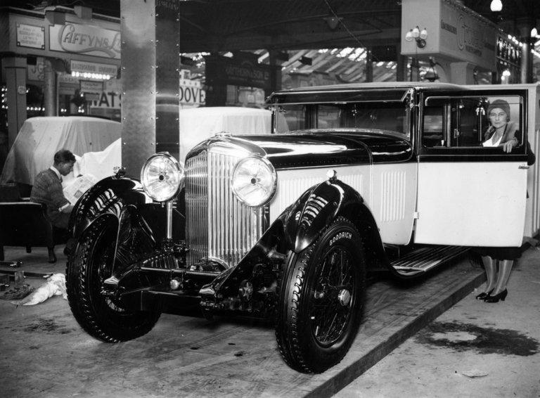 1930 Bentley 8-Litre, 1930 London Motor Show