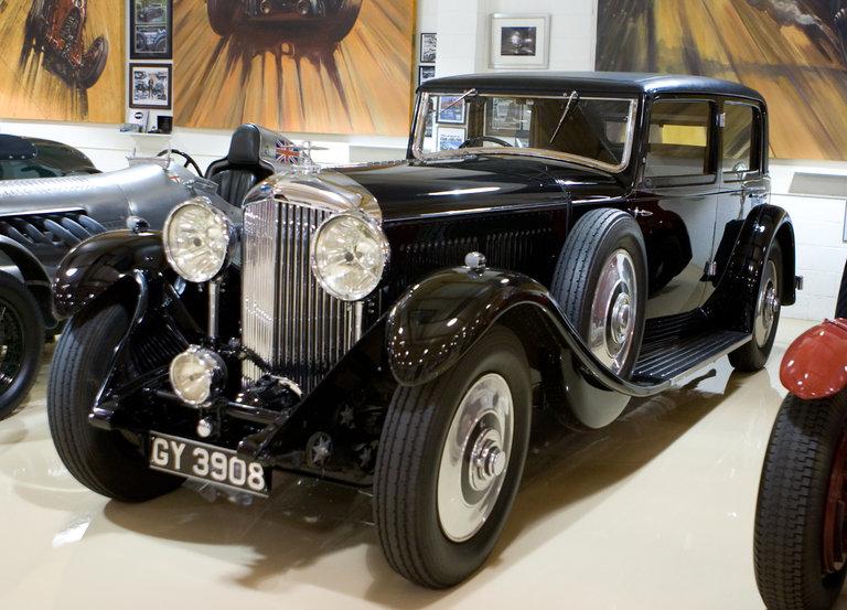 Jay's 1931 Bentley 8-Litre Sedan