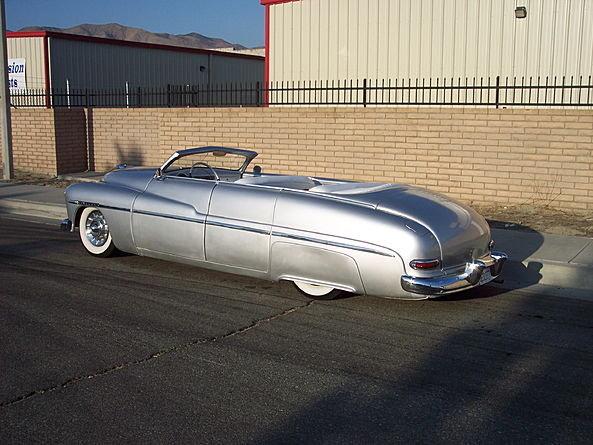 1950 Mercury California Cut Custom