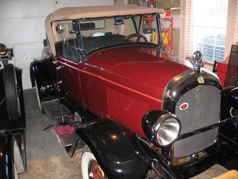 1927 Chrysler Red Head Roadster