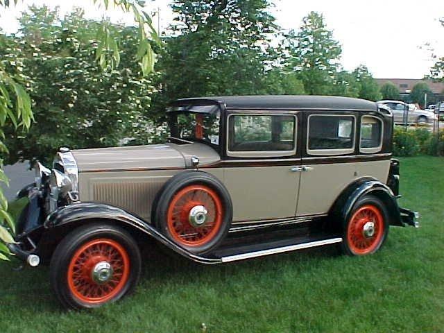 1930 Willys-Knight Model 70B Deluxe Sedan