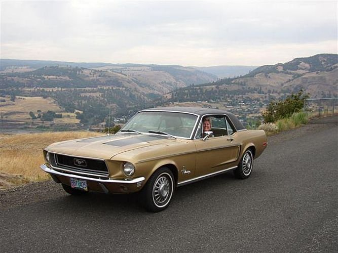 1968 Ford Mustang Gold Nugget
