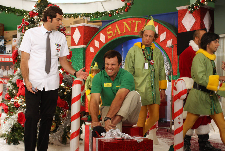 Chuck, Casey and Jeff the Elf.