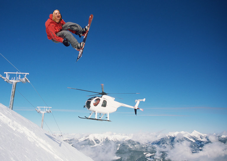 Heli-Skiing the Alps