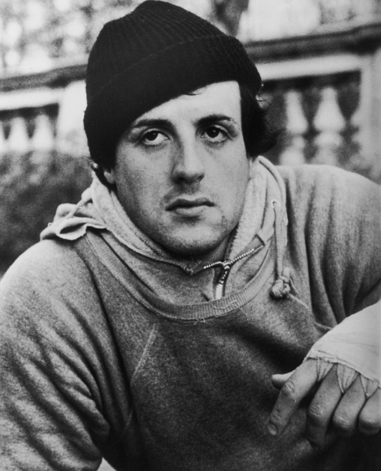 Sylvester Stallone In Sweats In 'Rocky'