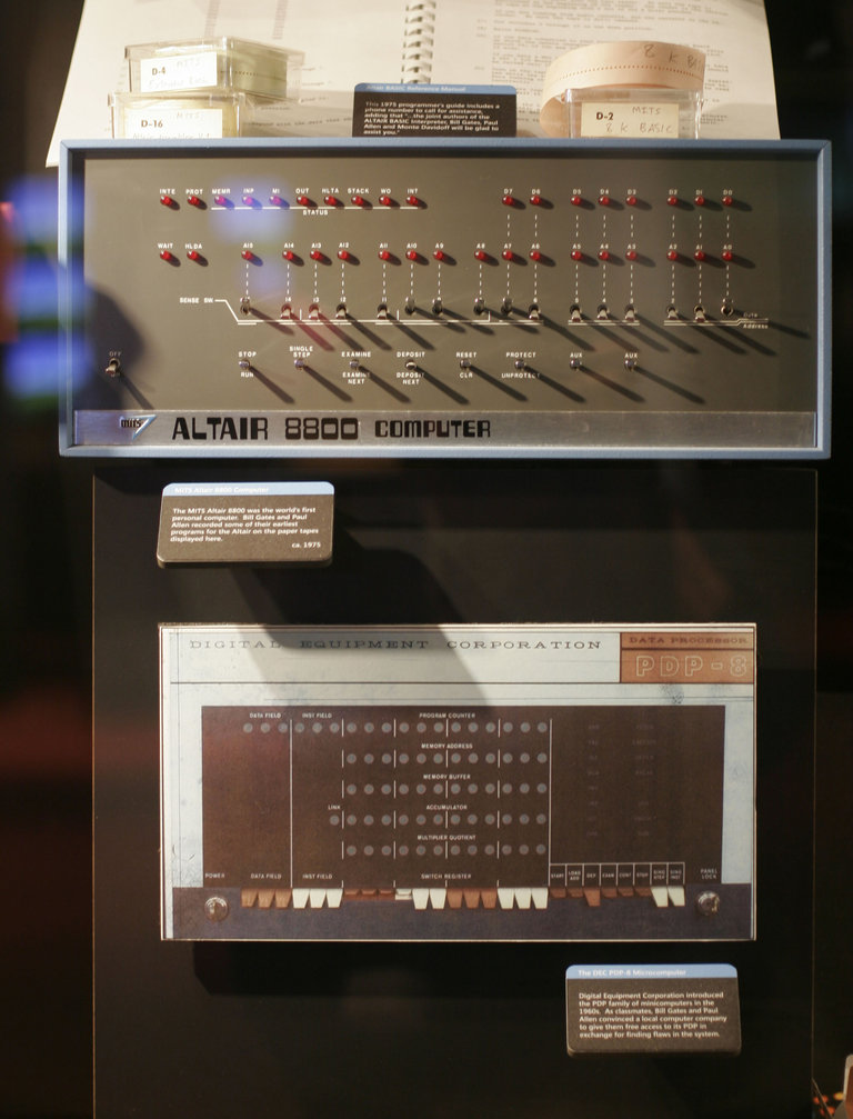 New Microsoft Visitor Center Displays Artifacts Of Software Giant