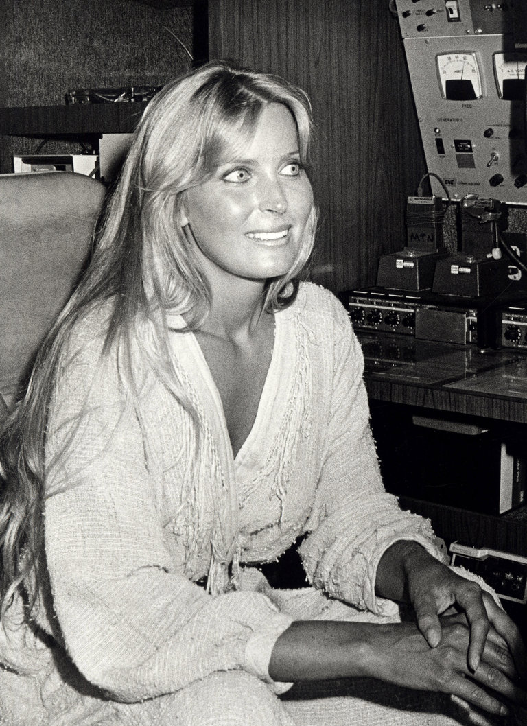 "Bo Derek at a Taping of ""The Tonight Show with Johnny Carson"""