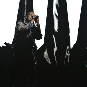 Kanye West performs on Episode 1641 of Saturday Night Live on May 18, 2013.