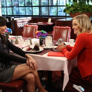 Parks and Recreation - Leslie Knope gets personal with Shauna Malwae-Tweep during Galentine's Day