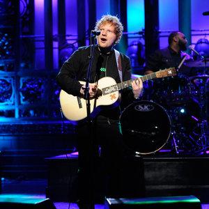 Ed Sheeran performs on Saturday Night Live on April 12, 2014.