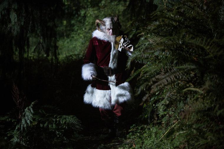 Grimm - Krampus walking through woods