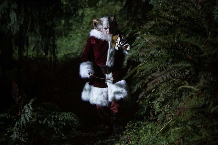 Grimm - Krampus walking through woods