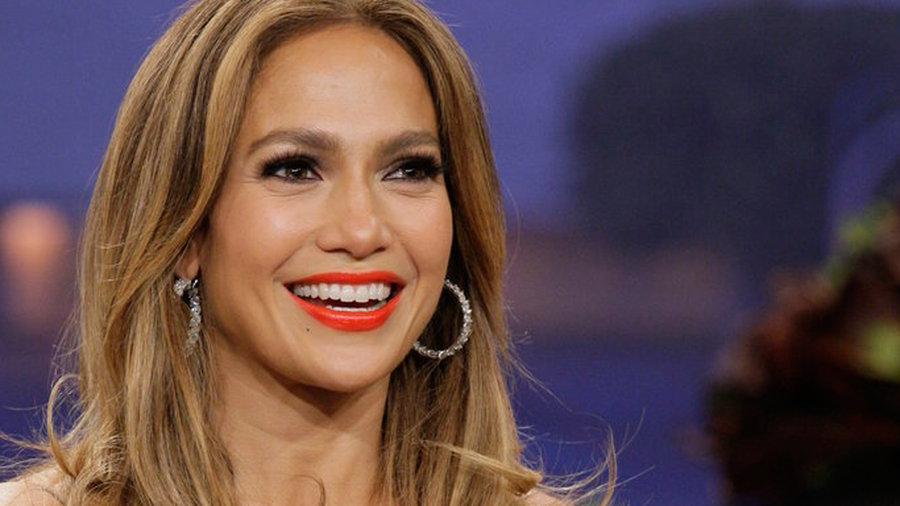 Jennifer Lopez, Aaron Eckhart, with comedian Adam Hunter