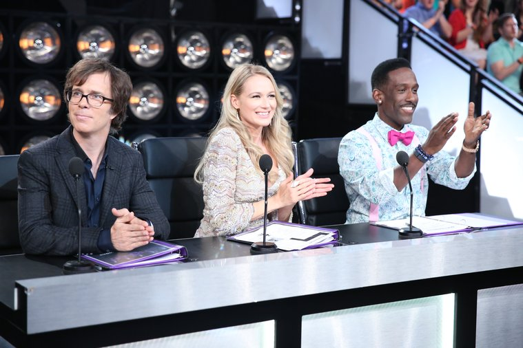 The Sing-Off - Ben Folds, Jewel, Shawn Stockman