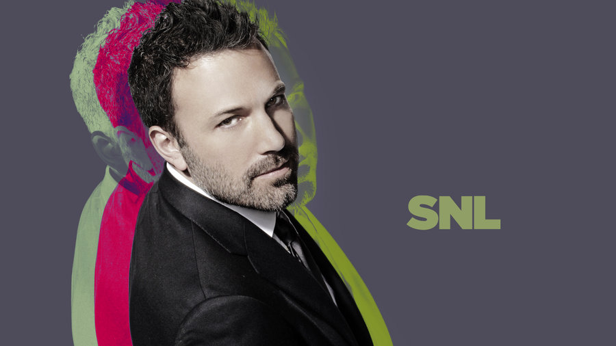 Ben Affleck hosts Episode 1641 of Saturday Night Live on May 18, 2013.