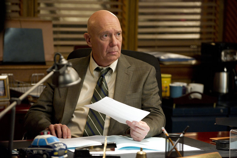 Dann Florek first appeared as Captain Donald Cragen in the original Law & Order series, serving as a regular from 1990 to 1993.