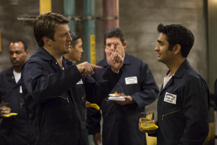 "COMMUNITY -- ""Analysis of Cork-Based Networking"" Episode 506 -- Pictured: (l-r) -- (Photo by: Justin Lubin/ NBC)"