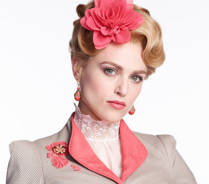 Katie McGrath stars as Lucy Westenra on the NBC series Dracula.