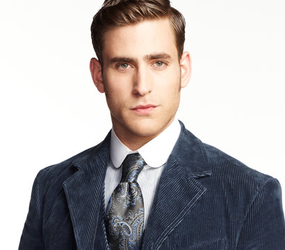 Oliver Jackson Cohen stars as Jonathan Harker on the NBC series Dracula.