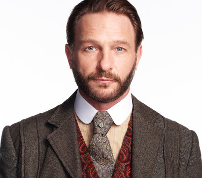 Thomas Kretschmann stars as Abraham Van Helsing on the NBC series Dracula.