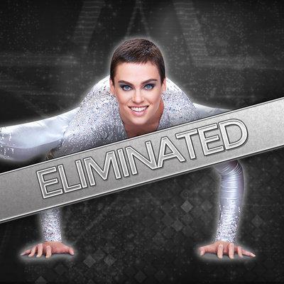 Nina Burri on season 9 of America's Got Talent