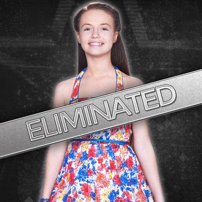 Mara Justine on season 9 of America's Got Talent.