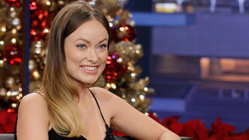 Olivia Wilde, Animal Expert Julie Scardina, with musical guest Johnny Mathis