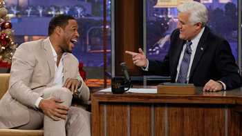 Michael Strahan, with musical guest Leona Lewis