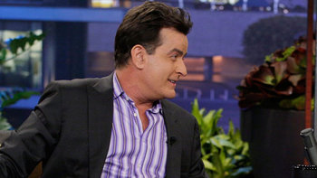 Charlie Sheen, Joy Behar, with musical guest Neon Trees