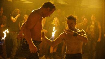 "Revolution - Sebastian Monroe delivers a punch in ""Happy Endings"""