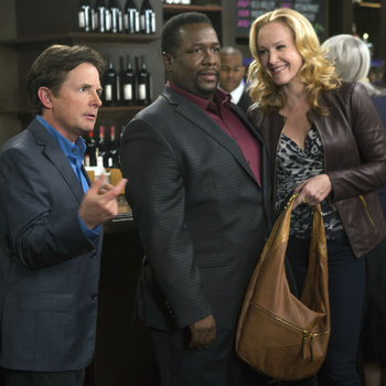 """THE MICHAEL J. FOX SHOW -- """"Party"""" Episode 112 -- Pictured: (l-r)  -- (Photo by: Eric Liebowitz/NBC)"""