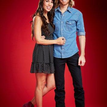"THE VOICE -- Season: 6 -- Pictured: (l-r) Miranda Dawn Dropeza, Christopher Hawkes as ""Dawn & Hawkes"" -- (Photo by: Paul Drinkwater/NBC)"