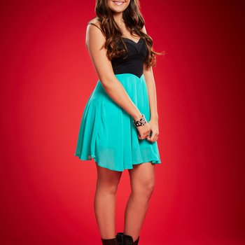 THE VOICE -- Season: 6 -- Pictured: Lexi Luca -- (Photo by: Paul Drinkwater/NBC)