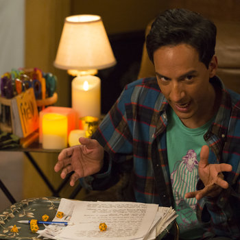 """COMMUNITY -- """"Advanced Advanced Dungeons & Dragons"""" Episode 510 -- Pictured: (l-r)  -- (Photo by: Justin Lubin/NBC)"""