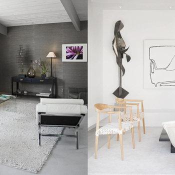 American Dream Builders - Mid-Century modern living rooms
