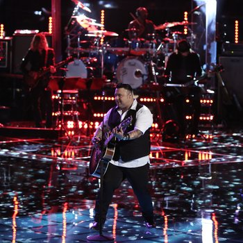 """THE VOICE -- """"Playoffs"""" -- Pictured: (l-r)  -- (Photo by: Tyler Golden/NBC)"""
