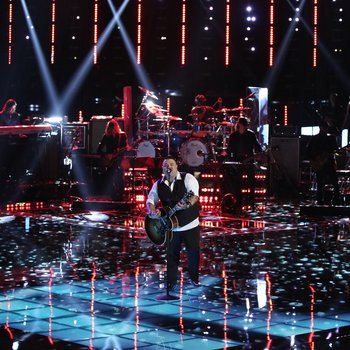 "THE VOICE -- ""Playoffs"" Episode 614 -- Pictured:  Ryan White Maloney -- (Photo by: Tyler Golden/NBC)"