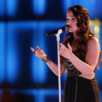 """THE VOICE -- """"Live Show"""" -- Pictured: Audra McLaughlin -- (Photo by: Trae Patton/NBC)"""