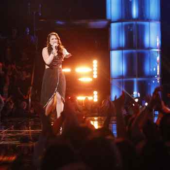 "THE VOICE -- ""Live Show"" -- Pictured: Audra McLaughlin -- (Photo by: Trae Patton/NBC)"