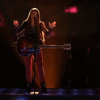 "THE VOICE -- ""Live Show"" -- Pictured: Bria Kelly -- (Photo by: Tyler Golden/NBC)"