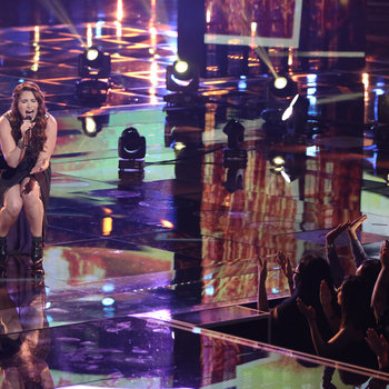 """THE VOICE -- """"Live Show"""" -- Pictured: Audra McLaughlin -- (Photo by: Tyler Golden/NBC)"""