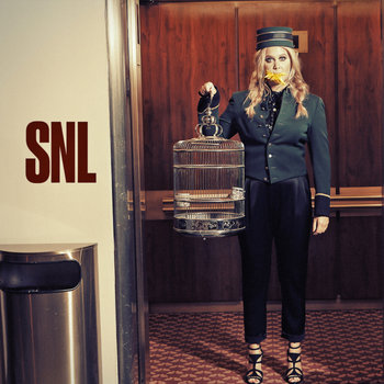 Amy Schumer hosts Saturday Night Live with musical guest The Weeknd on October 10, 2015
